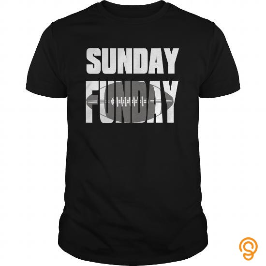 Intricate funny sunday funday footballa love Tee Shirts For Sale