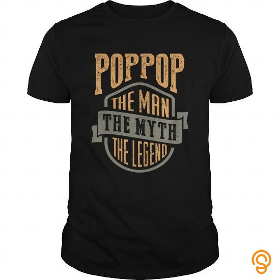 Wardrobe Poppop. The Legend. Farther's Day Gift! T Shirt T Shirts Sayings Men