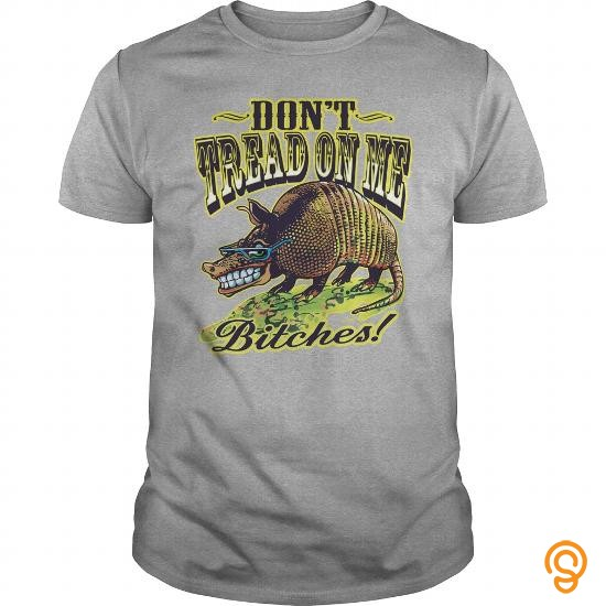 Available Now Armadillo Says Don't Tread On Me T Shirts Screen Printing