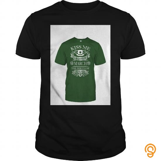 Quality Kiss Me   March Tee Shirts Clothing Company