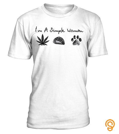 I'm A Simple Woman Weed Sushi And Dog
