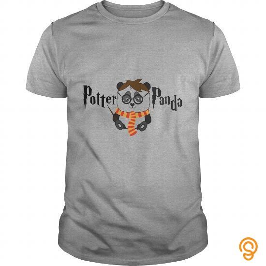 Comfy Potter Panda TShirt Tee Shirts Gift