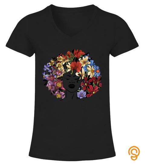 Afro Natural Black Hair Shirt Kind Pride