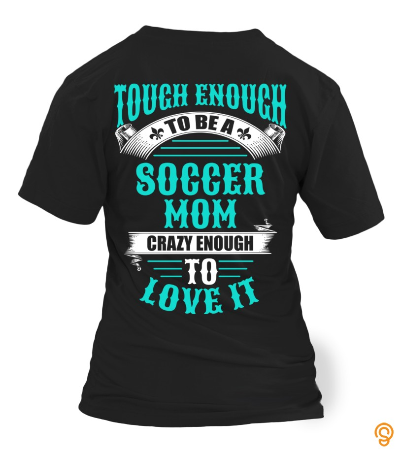 Cushioned Soccer Mom Tee Shirts Design