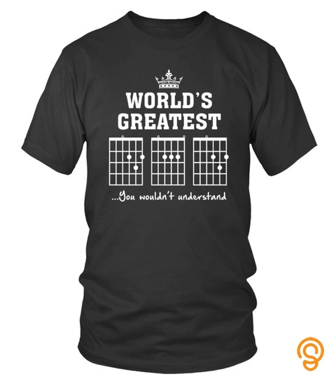 F Chord Dad Funny Guitar T Shirt   Unique Father S Day Gift