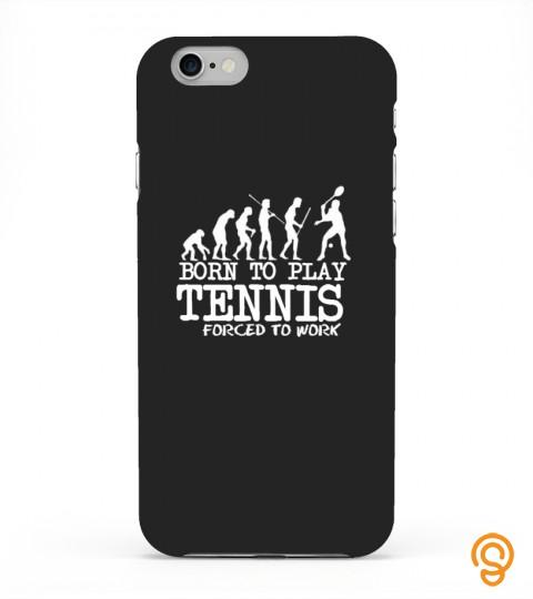 Born To Play Tennis Phone Case