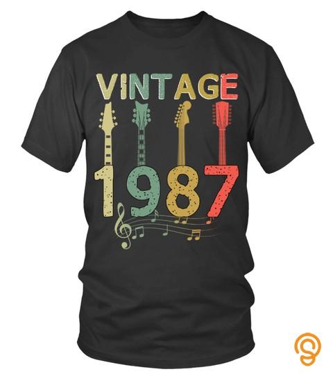 Vintage 1987 Guitarist Guitar Lovers