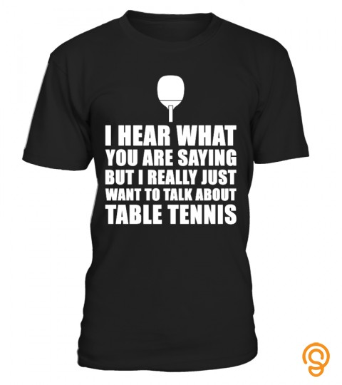 Funny Table Tennis Gift Idea