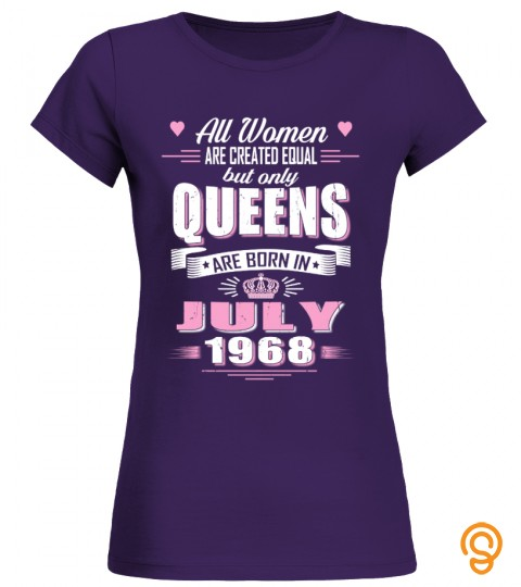 July 1968  Birthday Of Queens Shirts