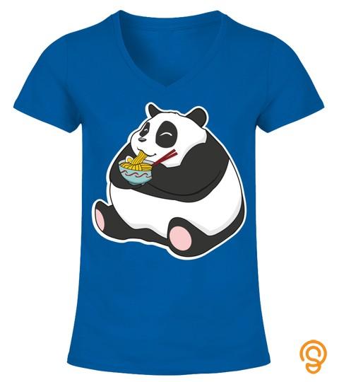 Body By Ramen Noodles Soup Funny Japanese Kawaii Panda Bear Sweatshirt