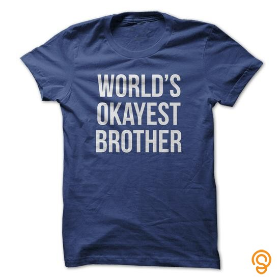 mens-womens-worlds-okayest-brother-t-shirts-gift