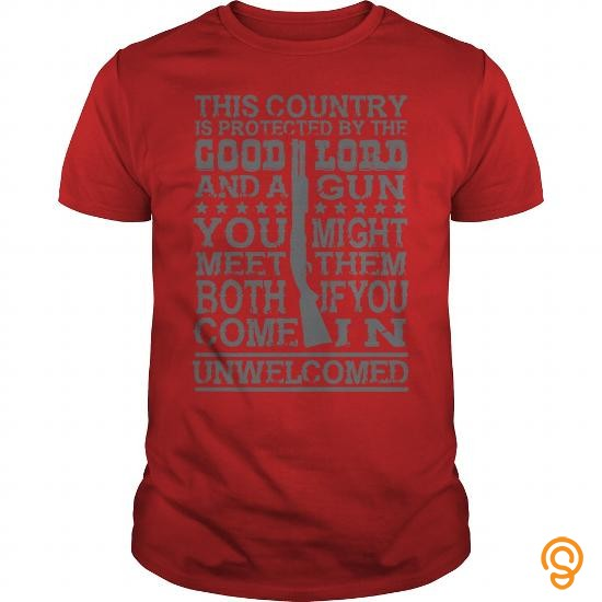 easy-wear-this-country-is-protected-by-god-and-gun-tee-shirts-review