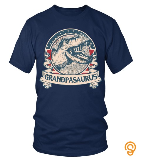 Grandpasaurus Vintage Dinosaur Father's Day 2019 Granddad