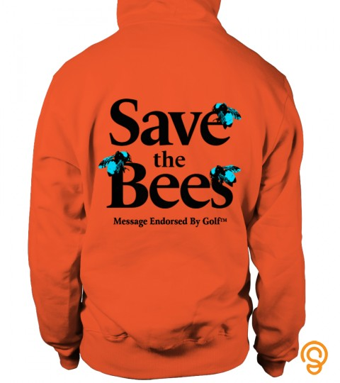 Save The Bees Message Endorsed By Golf