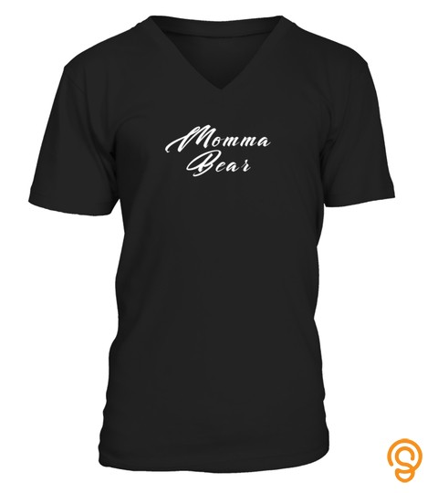 Womens Momma Bear Funny Mothers Day Tshirt   Hoodie   Mug (Full Size And Color)