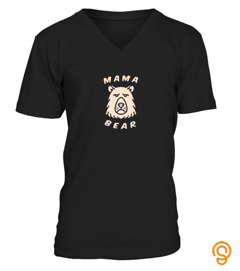 Mothers Day Mama Bear Tshirt   Hoodie   Mug (Full Size And Color)