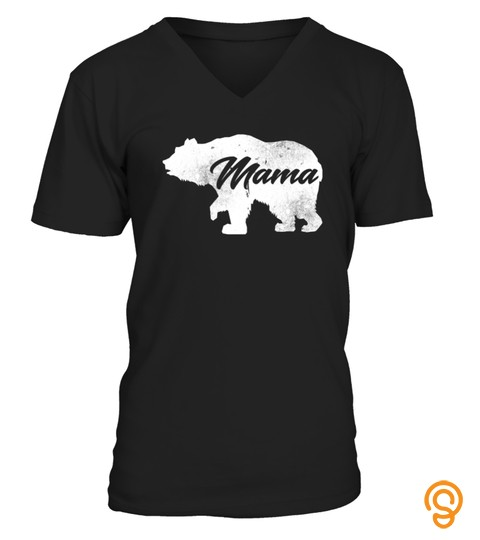 Mama Bear Mothers Day Gift Family Matching Funny Party Tshirt   Hoodie   Mug (Full Size And Color)