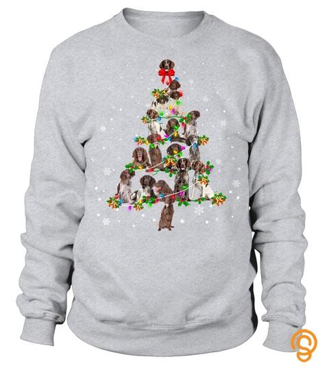 Small Munsterlander Christmas Tree