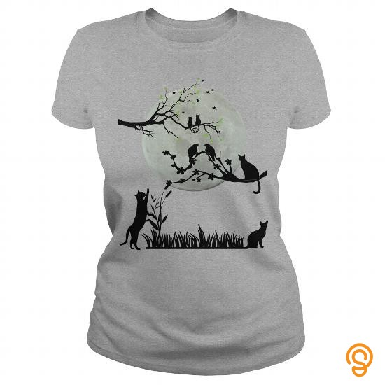 styling-cats-by-moonlight-t-shirts-design