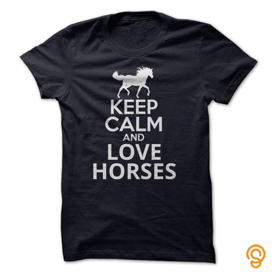 glamour-keep-calm-and-love-horses-t-shirts-quotes