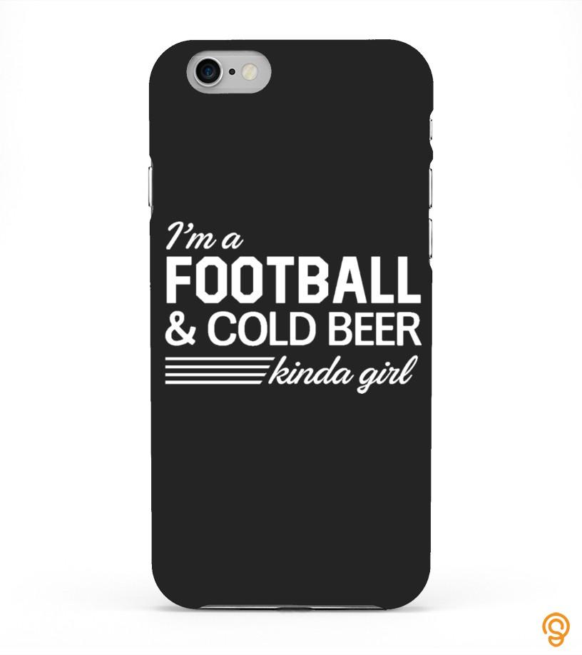 Detailed Football Girlfriend Case T Shirts Apparel