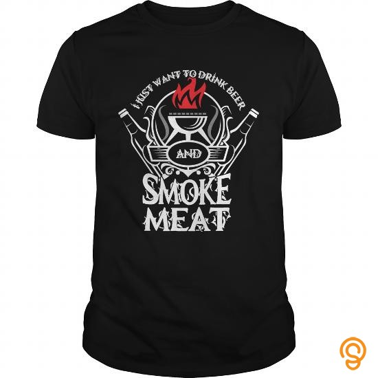 summer-i-just-want-to-drink-beer-and-smoke-meat-tee-shirts-clothing-brand