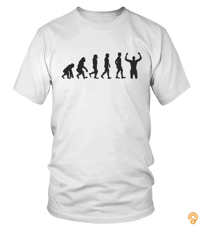 Funny Evolution Winner T Shirts Wholesale