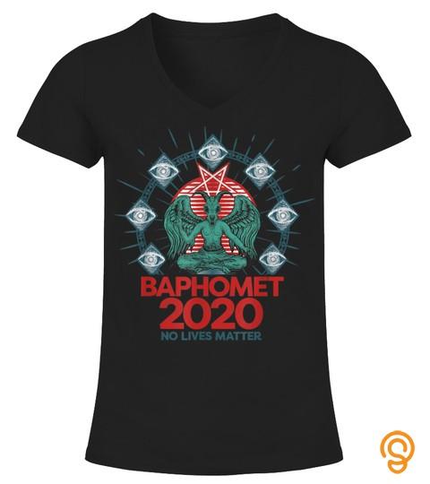 Top Trending Tee Baphomet 2020 No Lives Matter Political Satire 2383