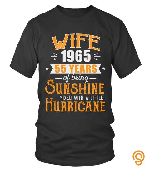 Wife Since 1965, 55 Years Wedding Gift