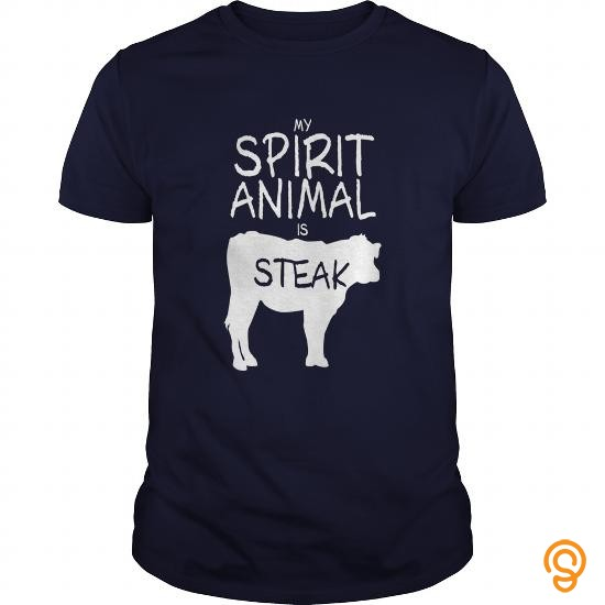 ergonomic-spirit-animal-steak-t-shirts-sayings