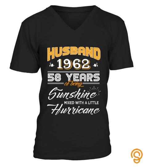 Husband 1962 58 Years Wedding Anniversary Gift
