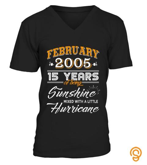 February 2005 15 Years Of Being Sunshine Mixed Hurricane