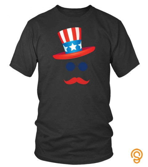 American Hat 4Th Of July T Shirt