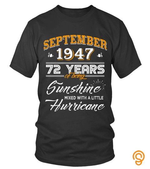 September 1947 72 Years Of Being Sunshine Mixed Hurricane