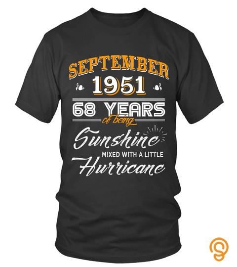 September 1951 68 Years Of Being Sunshine Mixed Hurricane