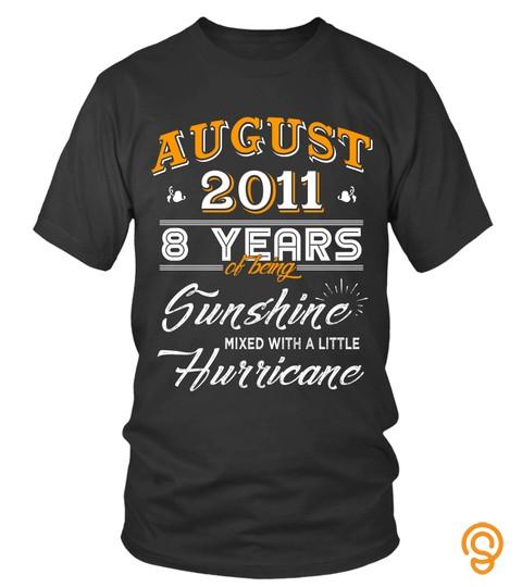 August 2011 8 Years Of Being Sunshine Mixed Hurricane