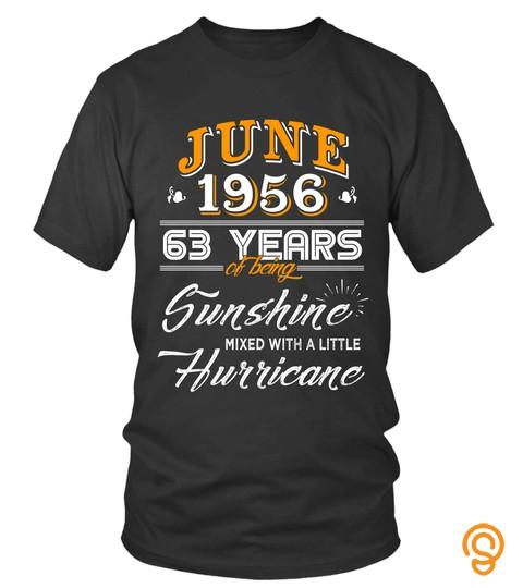 June 1956 63 Years Of Being Sunshine Mixed Hurricane