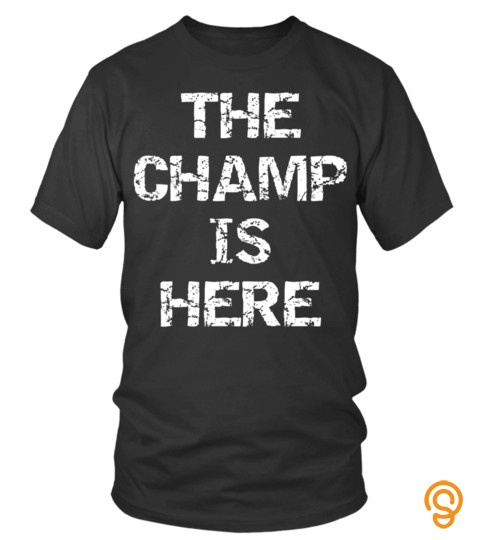 Soccer Shirts   Funny Fantasy Football Championship Trophy The Champ Is Here Long Sleeve Tshirt