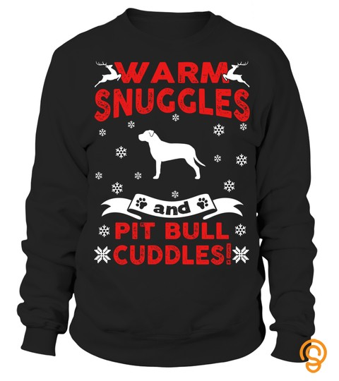 Pit Bull Ugly Christmas Sweater