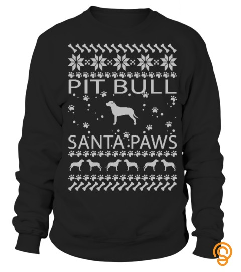 Pit Bull Ugly Christmas Sweaters
