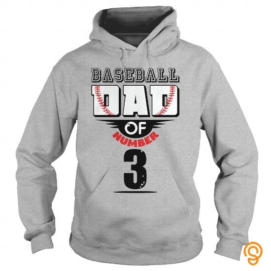 sale-priced-baseball-dad-of-number-3-tee-shirts-for-adults