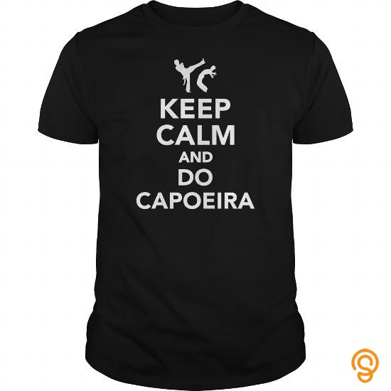 Overall Fit Keep calm and do Capoeira T Shirts Gift