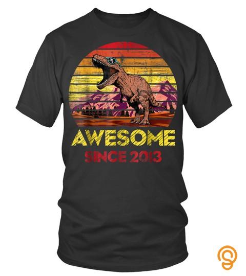 Tyrannosaurus Awesome Sine 2013 Vintage