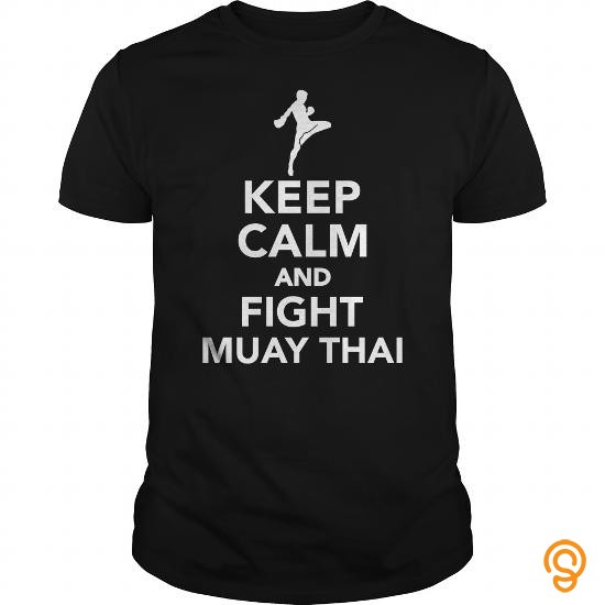sporty-keep-calm-and-fight-muay-thai-t-shirts-buy-now