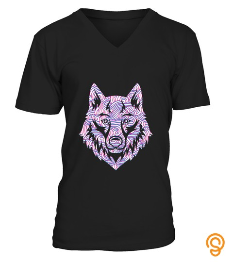Wolf Fox Wolf Lover Wild Animal Nature Funny Gift T-Shirt