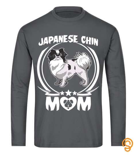 Japanese Chin Mom Shirt Awesome Mothers Day Gift