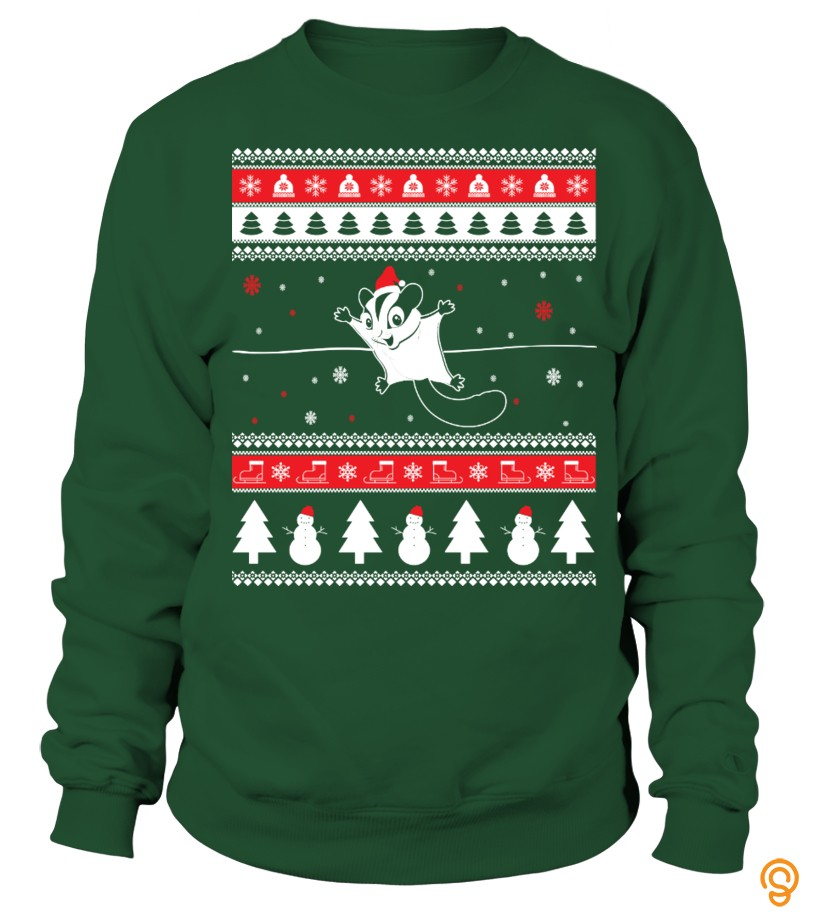 Sugar Glider Ugly Christmas Sweater
