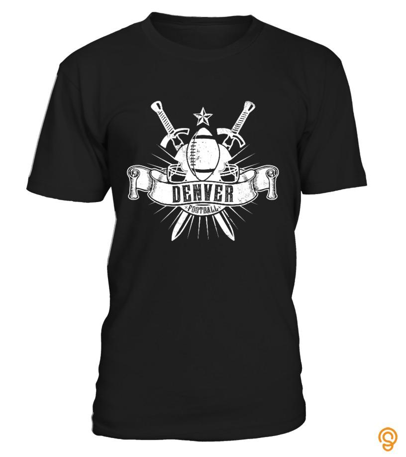 Custom Limited Edition: Denver Football Tee Shirts Size Xxl