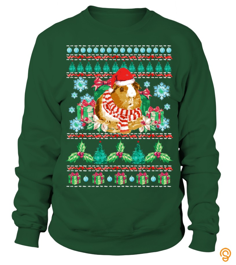 sports-wear-guinea-pig-ugly-christmas-sweater-t-shirts-printing