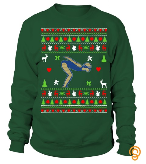 Swimming Ugly  Christmas Sweater